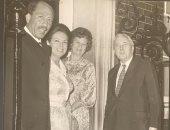 صور نادرة لجيهان السادات والرئيس الراحل ببريطانيا ولقاء مع ويلسون وتاتشر