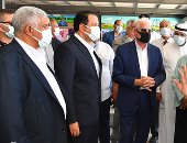 """محافظ جنوب سيناء لـ""""نقل النواب"""": إعادة تخطيط منطقة حمام موسى وإنشاء مشفى عالمى.. صور"""