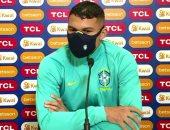 تياجو سيلفا ينتقد مشجعين برازيليين ساندوا الأرجنتين فى نهائى كوبا أمريكا