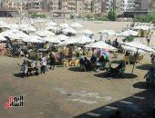 أخويا هايص وأنا لايص.. التوافد على شاطئ بورسعيد لم يتأثر بامتحانات الثانوية.. لايف