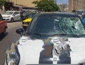 مصرع عامل نظافة صدمته سيارة مسرعة في الإسكندرية