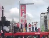 شاهد احتفالات الجماهير الإنجليزية بالشوارع قبل نهائي يورو 2020