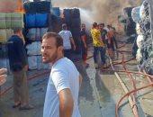 السيطرة على حريق هائل نشب بمصنع غزل ونسيج بمدينة بالعاشر من رمضان