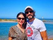 يوسف الشريف وزوجته إنجى علاء يستمتعان بإجازتهما الصيفية