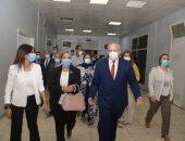 الخشت يفتتح وحدة أمراض القلب ويتفقد تطوير البنية التحتية بمستشفى أبو الريش