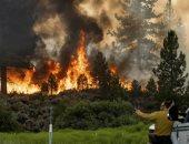 حرائق الغابات عرض مستمر.. النيران تتوغل فى كاليفورنيا ورجال الإطفاء الجندى المجهول