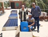 """أول نقابة مصرية تعمل بالطاقة الشمسية..مقر """"المهندسين"""" بالوادى الجديد.. فيديو وصور"""