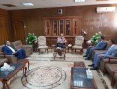 محافظ شمال سيناء يستقبل أعضاء البرنامج الرئاسى فى ختام فترة تدريبهم