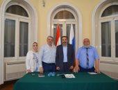 رئيس كتاب داغستان فى زيارته الأولى للقاهرة: مصر صاحبة حضارة عظيمة