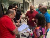 34 فنانا مصريا يصلون العاصمة الإيطالية للاحتفال بميلاد أوبرا عايدة.. صور