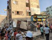 الجيزة تشن حملة على شارع العامل الأول ونفق المنيرة لإزالة الإشغالات.. صور