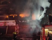 مستأجرو محلات عقار فيصل المحترق: ماس كهربائى وراء اشتعال النيران