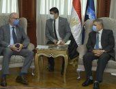 الفريق أسامة ربيع يلتقى السفير الأرجنتينى لبحث سبل التعاون المشترك.. فيديو وصور