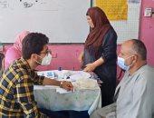 حياة كريمة.. قافلة طبية مجانية للكشف على المرضى بقرية سنباط فى الغربية