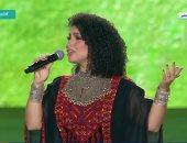 """نسمة محجوب: فخورة بالغناء أمام الرئيس للمرة الثانية فى احتفالية """"حياة كريمة"""""""