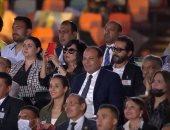 أحمد حلمى وهانى رمزى وسيد رجب يشاهدون مؤتمر حياة كريمة.. وإسعاد يونس توثق الحدث