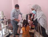 قارئ يشارك بصور قافلة طبية فى قرية مطير بمحافظة قنا