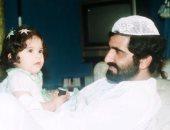 الشيخة لطيفة تحتفل بعيد ميلاد والدها محمد بن راشد بصورة تجمعهما من طفولتها