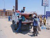 """جهاز """"القاهرة الجديدة"""" ينفذ حملات مكبرة للقضاء ظاهرة """"التوك توك""""وإزالة الإشغالات"""