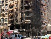 المعمل الجنائي: ماس كهربائي نتيجة زيادة الأحمال سبب نشوب حريق بمحل فى السلام