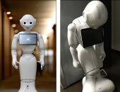"""""""أليكس الحديدي"""".. روبوت يفاجئ ضيوف منتدى الشرق الاقتصادي"""