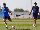 ساؤول يعود لتدريبات أتلتيكو مدريد الجماعية استعدادا للموسم الجديد
