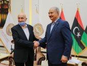 حفتر يبحث مع رئيس البرلمان الليبى آخر الأوضاع والمستجدات السياسية في البلاد