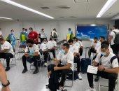 وصول منتخبات اليد والملاكمة والبعثة الطبية لليابان للمشاركة بأولمبياد طوكيو
