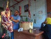 عيد اللحمة.. استعدادات محلات الجزارة لاستقبال العيد وسط إقبال المواطنين