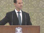 الرئيس السوري يبحث مع وفد روسى الجهود المشتركة فى محاربة الإرهاب