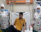 """إنقاذ حياة أحد أبطال سيناء رفيق الشهيد منسى """"ملحمة البرث"""" بعد عملية فى الرئة"""