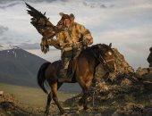 النسر الذهبى تراث شعبى.. رحلة استكشافية للصيد البرى فى جبال منغوليا