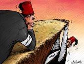 كاريكاتير صحيفة إماراتية.. لبنان إلى الهاوية والسياسيون يتقاعسون