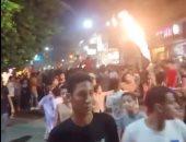 احتفالات فوز الأهلى داخل شوارع بنى سويف والشرقية (فيديو)