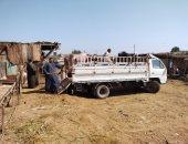 قبل ساعات من عيد الأضحى..انتعاش بيع الأضاحى بسوق بنها العمومى (لايف وصور)