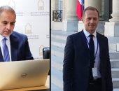 رئيس تكتل أحياء ليبيا يجتمع افتراضيًّا بالمبعوث الخاص الفرنسي