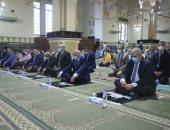 محافظ الجيزة يؤدى صلاة عيد الأضحى المبارك بمسجد المغفرة بحى العجوزة