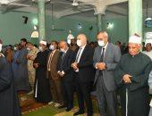 محافظ قنا يؤدى صلاة عيد الأضحى المبارك بقرية أبو حزام للمرة الأولى.. صور