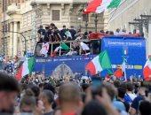 احتفالات إيطاليا بلقب يورو 2020 تتسبب فى ارتفاع عدد الإصابات بكورونا