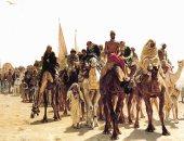 شاهد لوحة الحجاج فى طريقهم إلى مكة للفنان الفرنسى ليون بيلى