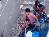 شكوى من انقطاع المياه فى قرية منشية صيره البحيرة.. والشركة تستجيب