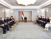 """الرئيس السيسي يعقد اجتماعًا بـ""""العلمين"""" لاستعراض مخطط تنمية القطاع الشمالى الغربى"""