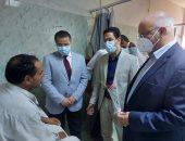 القائم بأعمال رئيس جامعة بنها يتفقد المستشفى الجامعى ويشيد بجهود الأطقم الطبية