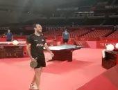 أولمبياد طوكيو.. شاهد تدريب منتخب الطاولة قبل انطلاق المنافسات