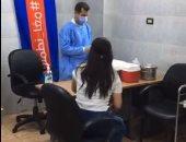 إقبال المصريين على مراكز التطعيم بلقاح كورنا ثالث أيام عيد الأضحى ..لايف