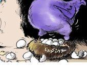 سلالات كورونا التحدي الأكبر للعالم في كاريكاتير الشرق الأوسط