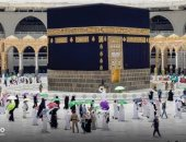 10 صور لحجاج بيت الله الحرام أثناء طواف الوداع وسط إجراءات وقائية