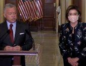رئيسة مجلس النواب الأمريكى تستقبل ملك الأردن وولى عهده فى الكابيتول..فيديو