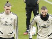 عودة بنزيما وبيل إلى تدريبات ريال مدريد