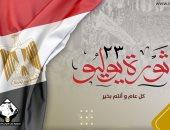 تنسيقية الأحزاب مهنئة المصريين بثورة 23 يوليو: تحية لكل من ساهم فى رفعة الوطن